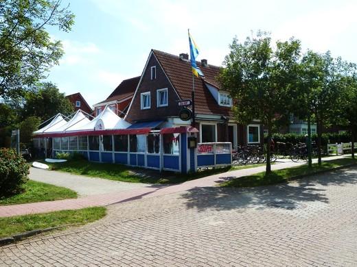 Foto vom Surfzentrum auf Langeoog